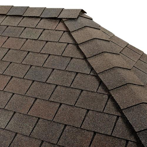 GAF Timbertex 20-lin ft Royal Slate Laminated Hip and Ridge Roof Shingles