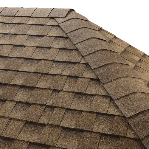 GAF Seal-A-Ridge 25-lin ft Shakewood Hip and Ridge Roof Shingles
