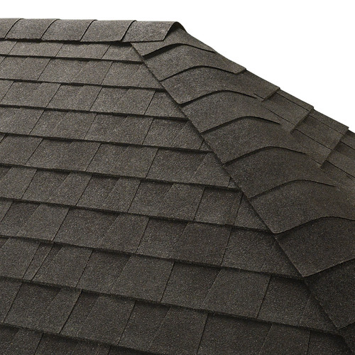 GAF Seal-A-Ridge 25-lin ft Charcoal Hip and Ridge Roof Shingles