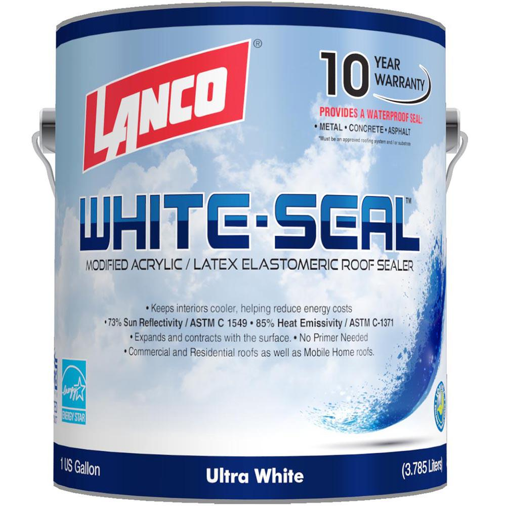 1 Gal. RC865 Elastomeric White-Seal Reflective Roof Coating