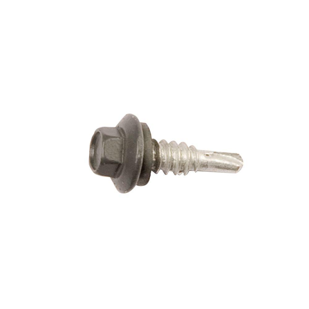 14 X 7/8 in. Charcoal Stitch Screw (250-Bag)