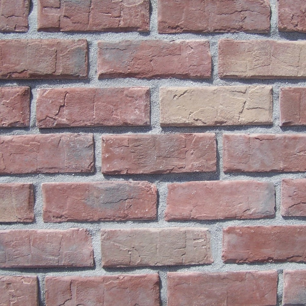 Black Bear Manufactured Stone - Brick Stone Old Colony Red/Old Colony Red / 14 Lineal Ft Corner