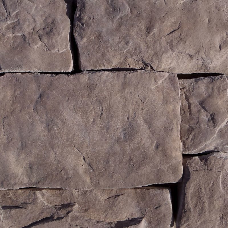 Black Bear Manufactured Stone - Hackett Stone Brown Stone/Brown Stone / 6 Lineal Ft Corner