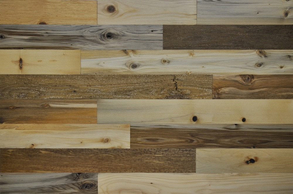 Timberchic River Plank Peel and Stick Reclaimed Wooden Panels/River Planks / 3'