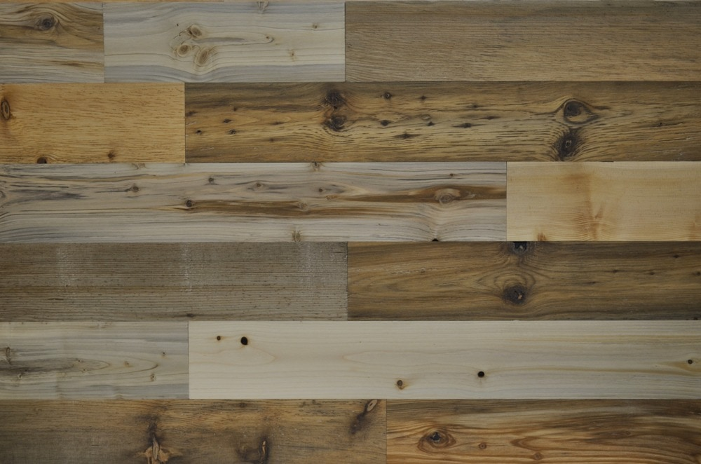 Timberchic River Plank Peel and Stick Reclaimed Wooden Panels/River Planks / 4'