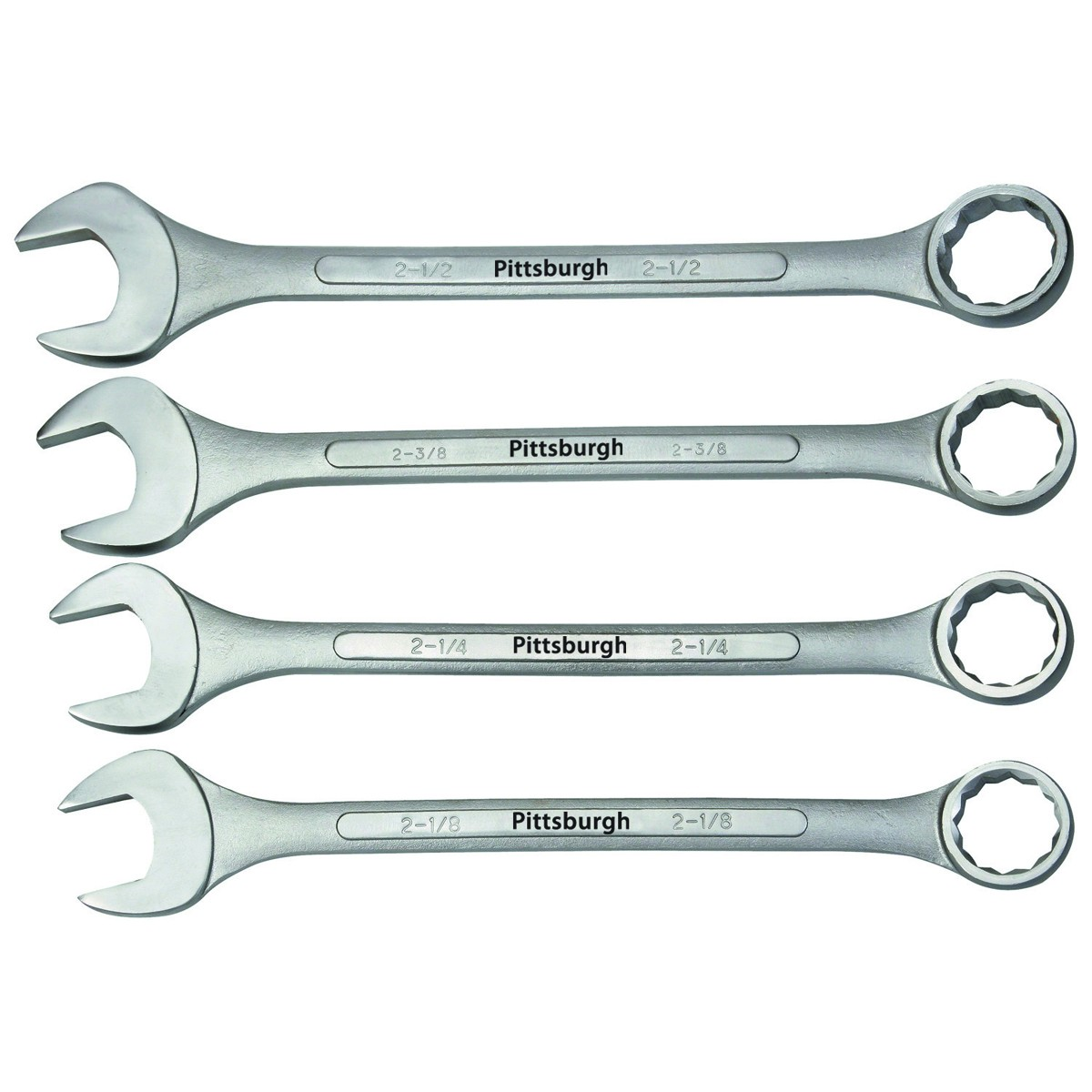 4 Pc SAE Super Jumbo Combination Wrench Set